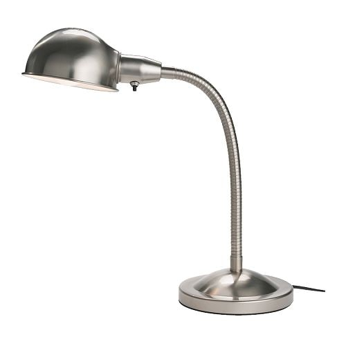 FORMAT Work lamp   You can easily direct the light where you want it because the lamp arm and head are adjustable.