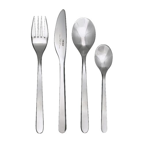 FÖRNUFT 24-piece cutlery set
