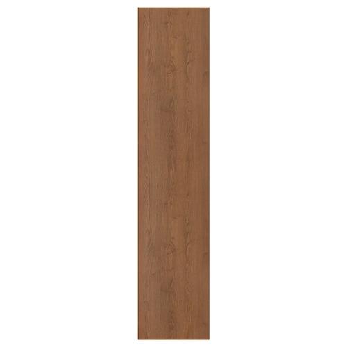 FORSAND door brown stained ash effect 49.5 cm 229.4 cm 236.4 cm 1.8 cm