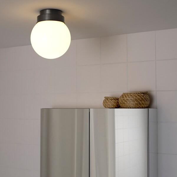 FRIHULT ceiling/wall lamp black 5.3 W 19 cm 16 cm