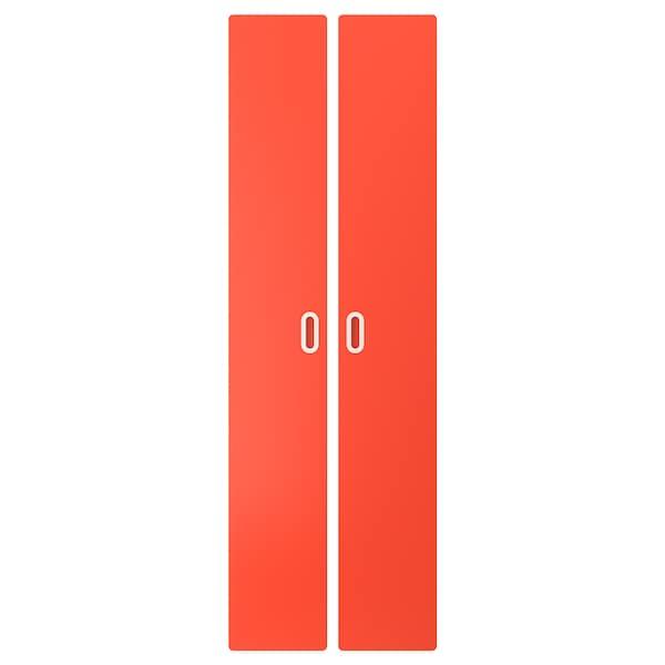 FRITIDS door red 60.0 cm 192 cm 2 pieces