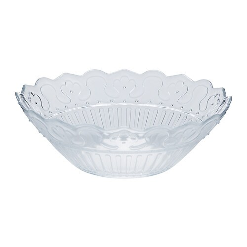 FRODIG Bowl   Made of tempered glass, which makes the bowl durable and extra resistant to impact.
