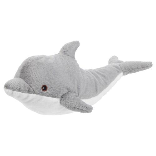 GENOMBLÖT soft toy dolphin 30 cm