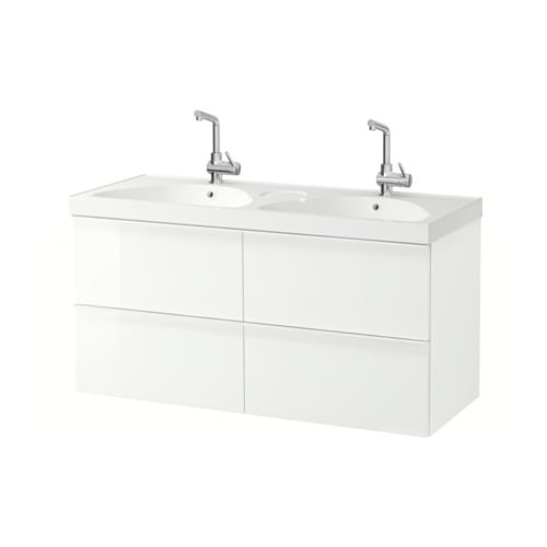 GODMORGON / EDEBOVIKEN Wash-stand with 4 drawers   10 year guarantee.   Read about the terms in the guarantee brochure.