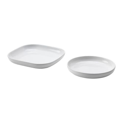 GRATINERA Oven/serving dish set of 2