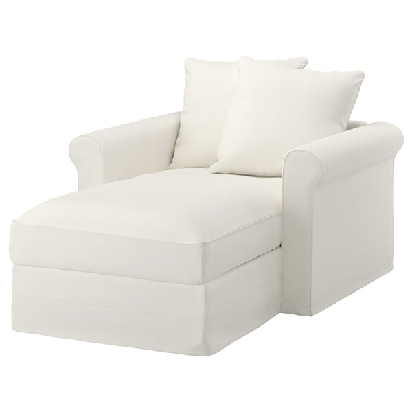 Chaise Lounge Chair.Gronlid Chaise Longue Inseros White Ikea