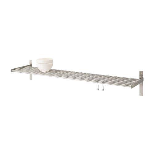 grundtal wall shelf 120 cm ikea. Black Bedroom Furniture Sets. Home Design Ideas