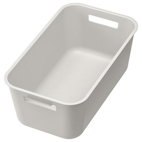 GRUNDVATTNET washing-up bowl grey 39 cm 23 cm 16 cm