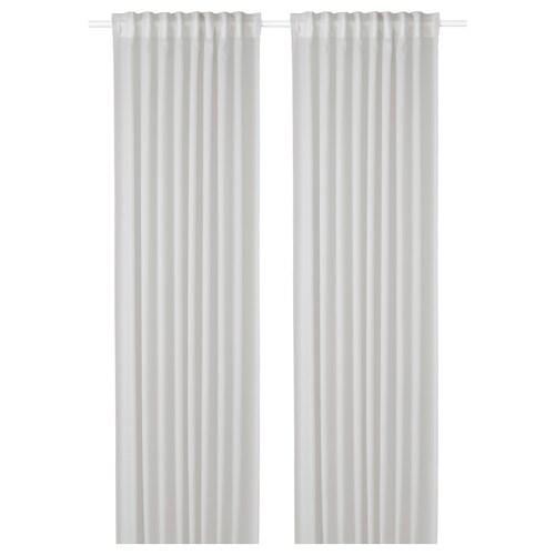 GUNRID air purifying curtain, 1 pair light grey 250 cm 145 cm 0.92 kg 3.63 m² 2 pieces