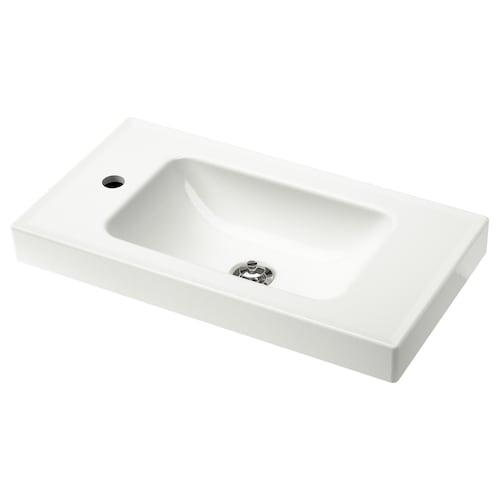 HAGAVIKEN single wash-basin white 63 cm 60 cm 34 cm 7 cm