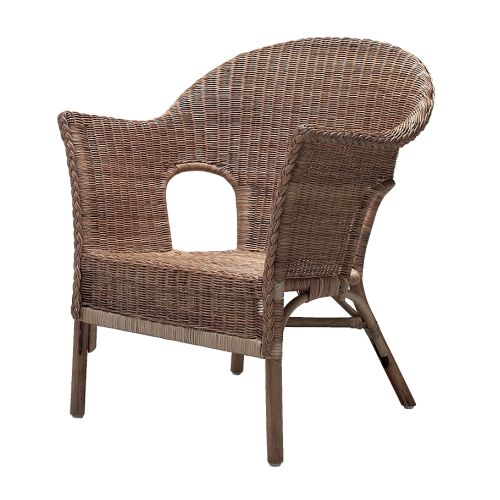 HÄSTVEDA Armchair   Handwoven; each piece of furniture is unique.  Stackable in order to save space when not in use.
