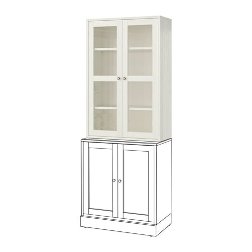 HAVSTA Glass-door cabinet IKEA