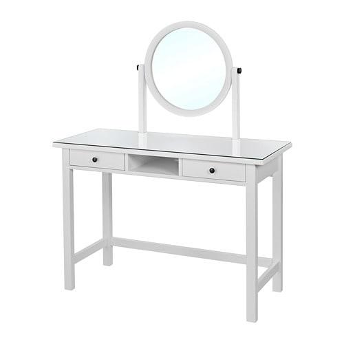 Hemnes dressing table with mirror ikea - Hemnes dressing table with mirror white ...