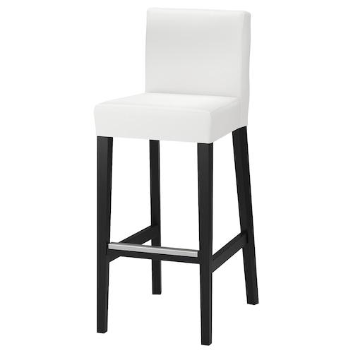 IKEA HENRIKSDAL Bar stool with backrest