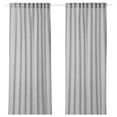 IKEA HILJA Curtains, 1 pair