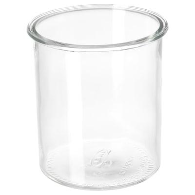 IKEA 365+ Jar, round/glass, 1.7 l