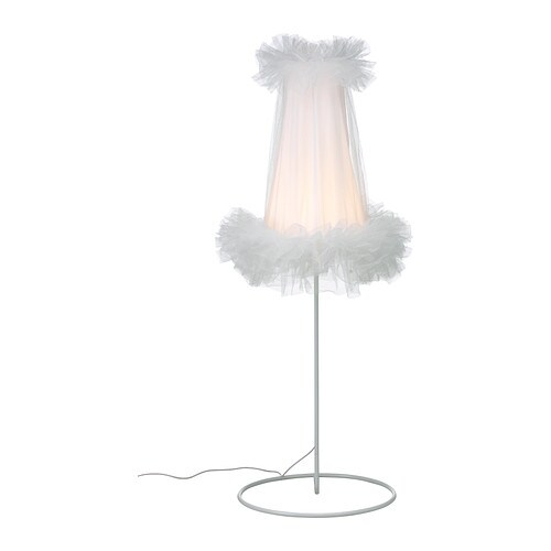 IKEA PS 2012 LED floor lamp   Uses LEDs, which consume up to 85% less energy and last 20 times longer than incandescent bulbs.