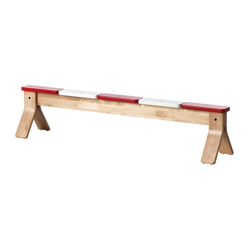 IKEA PS 2014 Balancing bench   Helps the development of children's coordination and balance.