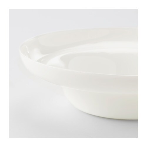 IKEA PS 2017 Bowl   The edge of the bowl has a grip which makes it easy to carry without spilling.
