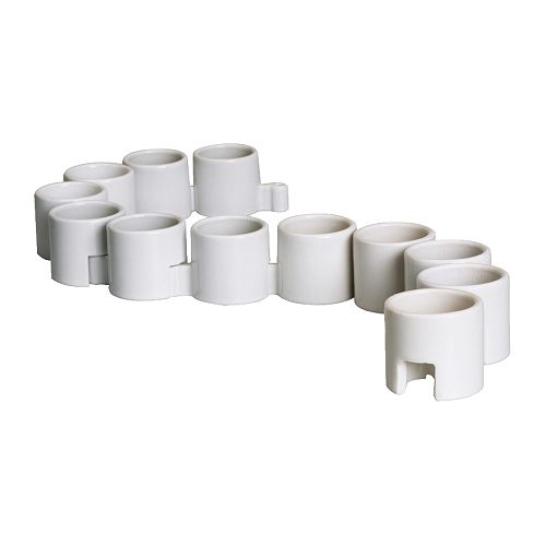 IKEA PS Tealight holder   12 tealight holders; can be used separately or linked together.