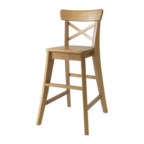 INGOLF Junior chair   Gives the right seat height for the child at the dining table.