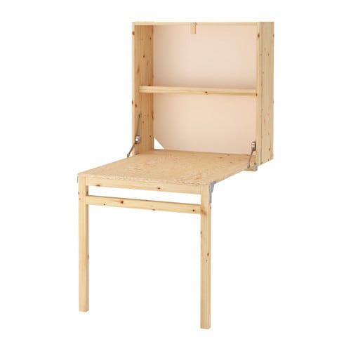 Ivar Storage Unit With Foldable Table Ikea