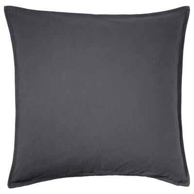 JOFRID Cushion cover, dark blue-grey, 65x65 cm