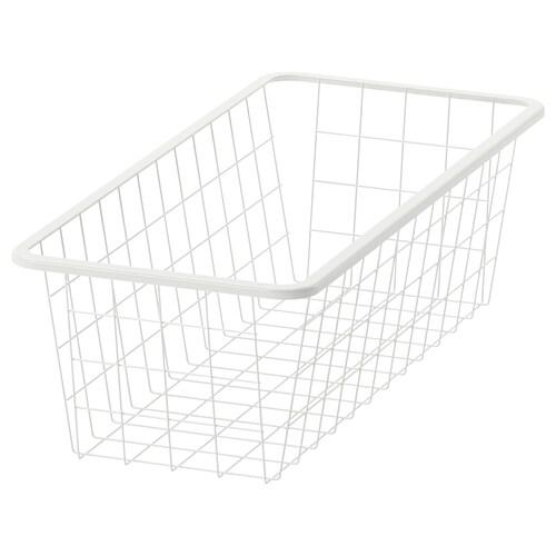 JONAXEL wire basket white 25.0 cm 25.0 cm 51.0 cm 15.0 cm 51.0 cm 3 kg