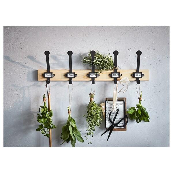 IKEA KARTOTEK Rack with 5 hooks