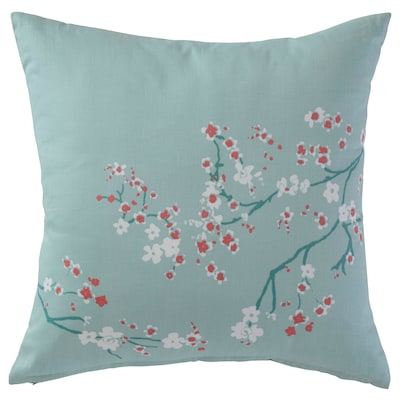 KLOCKPYROLA Cushion, Cherry blossom branch/green/white, 50x50 cm