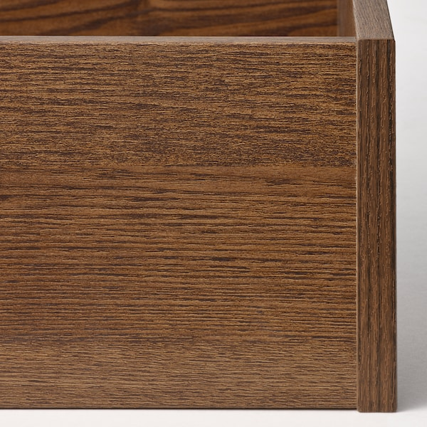 KOMPLEMENT Drawer, brown stained ash effect, 100x58 cm