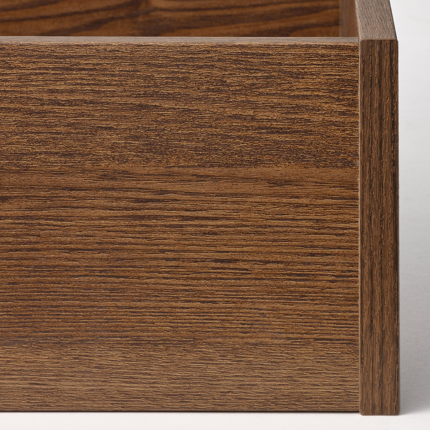 KOMPLEMENT Drawer, brown stained ash effect, 50x58 cm