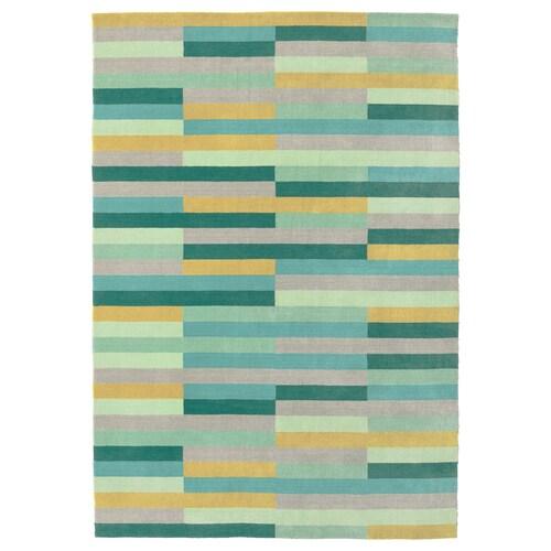 KRÖNGE rug, low pile handmade/multicolour 240 cm 170 cm 4.08 m² 3010 g/m² 2400 g/m² 7 mm