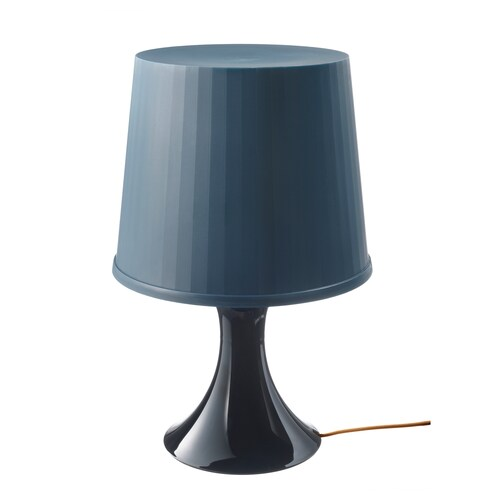 LAMPAN table lamp dark blue 13 W 29 cm 45 cm 18 cm 2.0 m