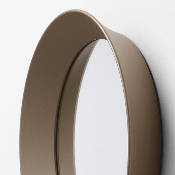 LANGESUND mirror beige 25 cm