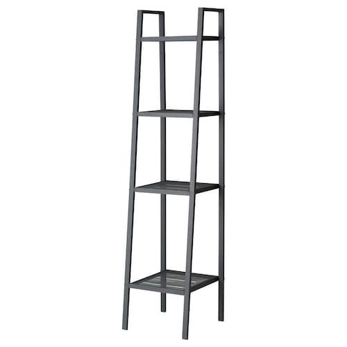 LERBERG shelf unit dark grey 35 cm 35 cm 148 cm 10 kg