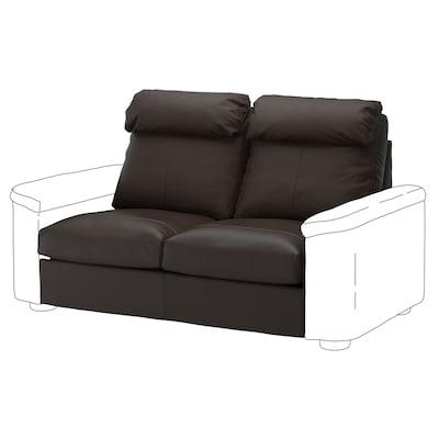 LIDHULT 2-seat section, Grann/Bomstad dark brown