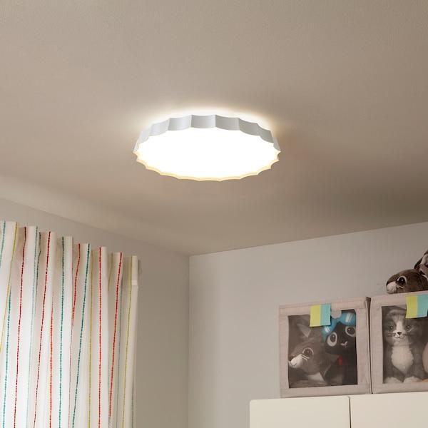 LOTTEFORS LED ceiling lamp, plastic white, 4000 K