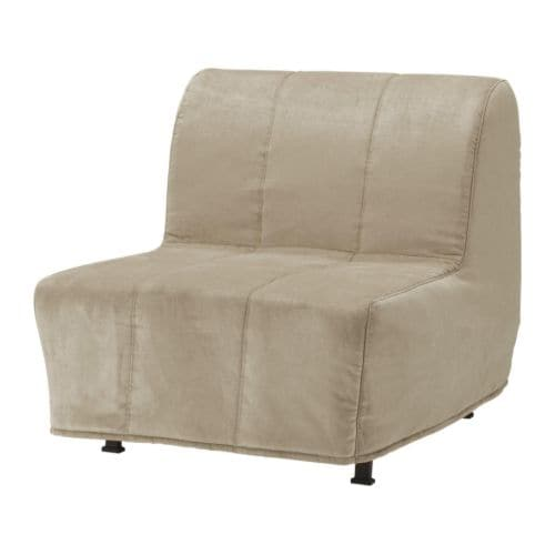 LYCKSELE LÖVÅS Chair-bed   Easy to keep clean; removable, machine washable cover.