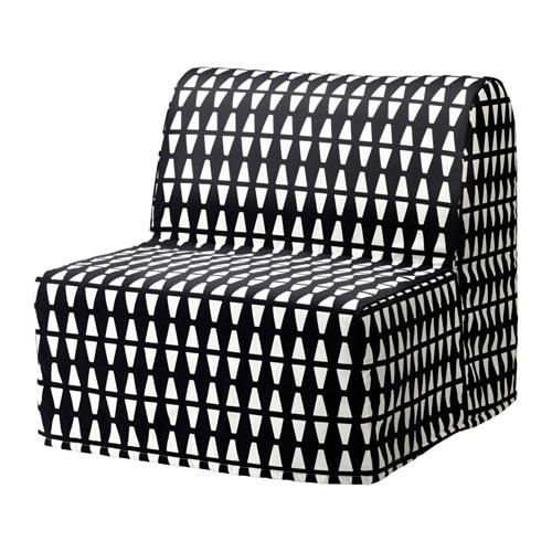Lycksele Murbo Chair Bed Ebbarp Blackwhite Ikea