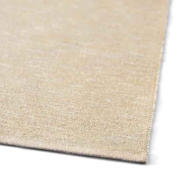 MÄRIT Table-runner, beige, 35x130 cm