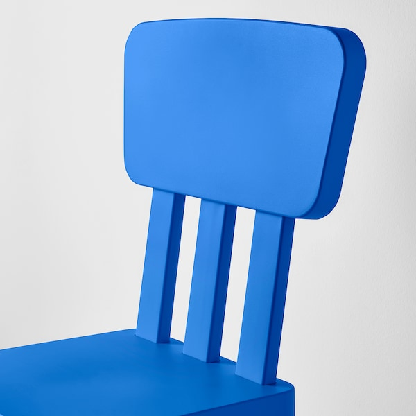 MAMMUT Children's chair, in/outdoor/blue
