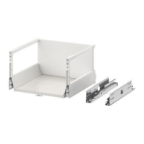 Maximera drawer high white 40x37 cm ikea - Porte de placard pliante ikea ...