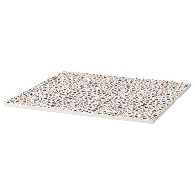 MELLTORP Table top, mosaic patterned, 75x75 cm