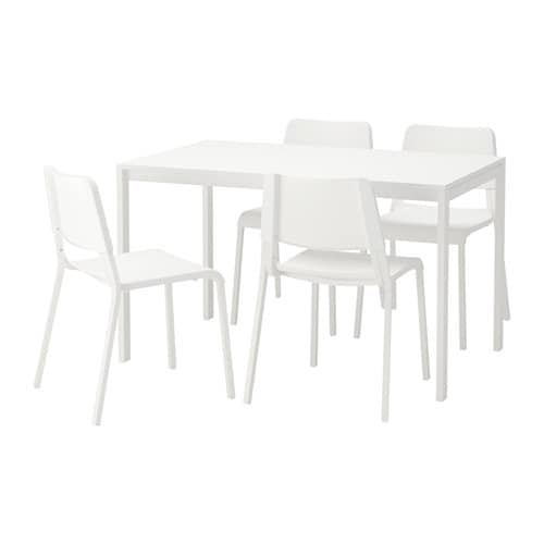 MELLTORP TEODORES Table and 4 chairs IKEA : melltorp teodores table and chairs white0515068PE639796S4 from www.ikea.com size 500 x 500 jpeg 14kB
