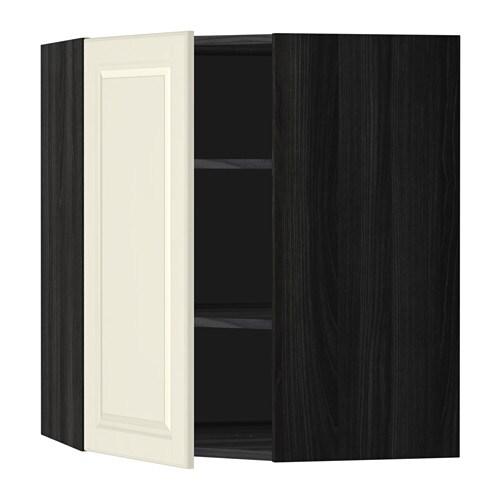 Metod Corner Wall Cabinet With Shelves Ikea