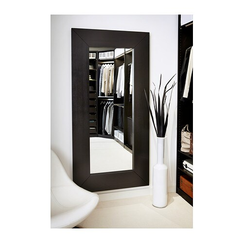 MONGSTAD Mirror   Full-length mirror.  Can be hung horizontally or vertically.