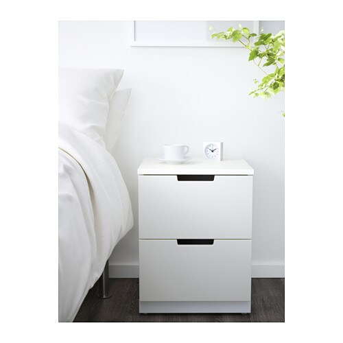 NORDLI Chest of 2 drawers   You can use one modular chest of drawers or combine several to get a storage solution that perfectly suits your space.
