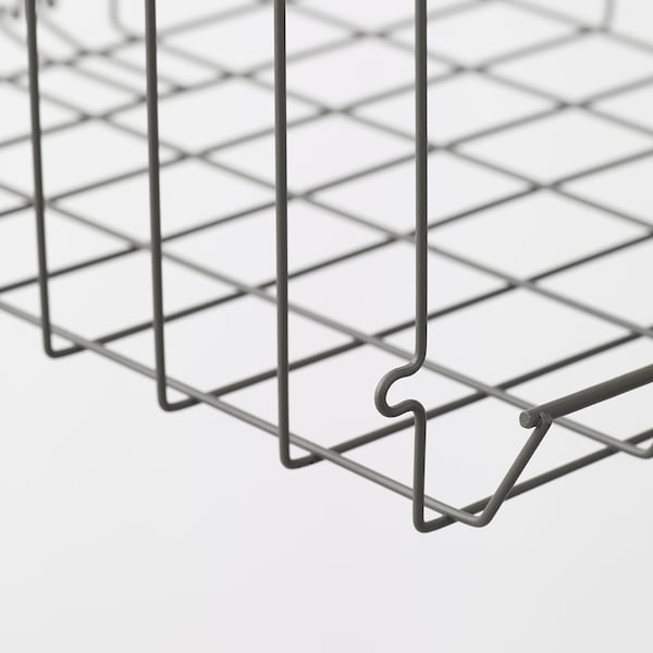 OBSERVATÖR Clip-on basket, grey-brown