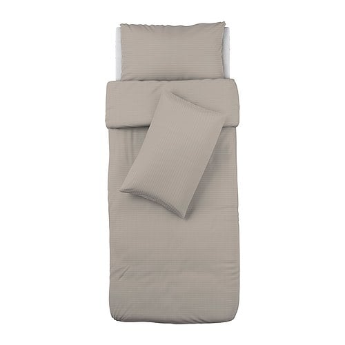 OFELIA VASS Quilt cover and 2 pillowcases   Bedlinen densely woven from fine yarn; soft and durable quality.